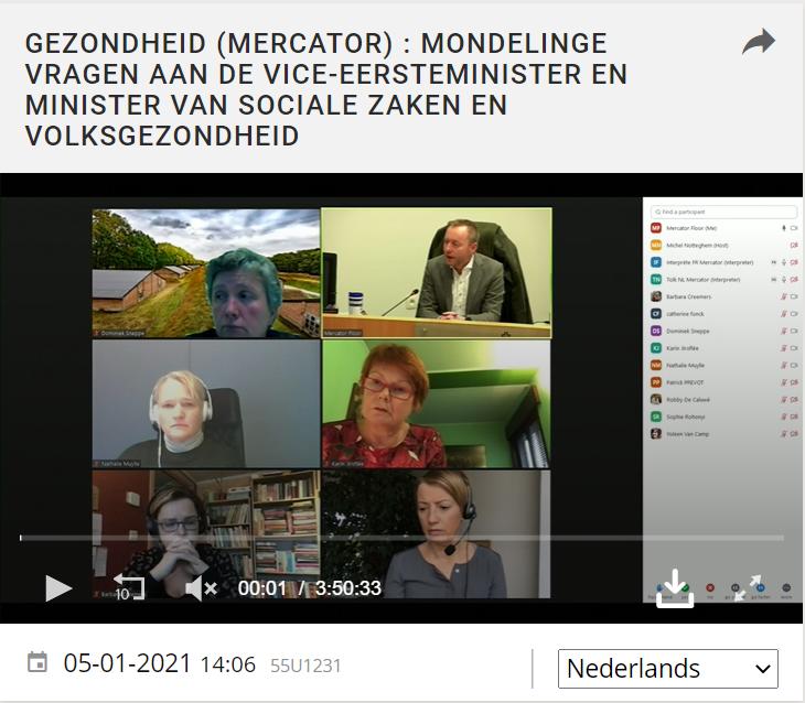 Vragen voor minister Vandenbroucke
